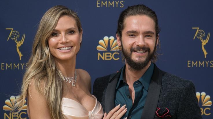 Heidi Klum und Freund Tom Kaulitz sind wieder vereint.