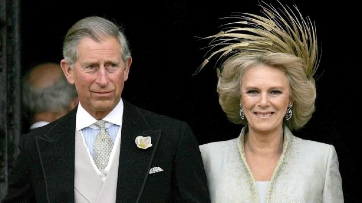 Prinz Charles und Camilla Parker Bowles heirateten am 9. April 2005.