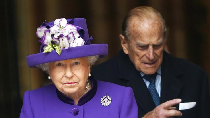 Verwandte von Queen Elizabeth sind bei einem Autounfall verstorben. (Foto)