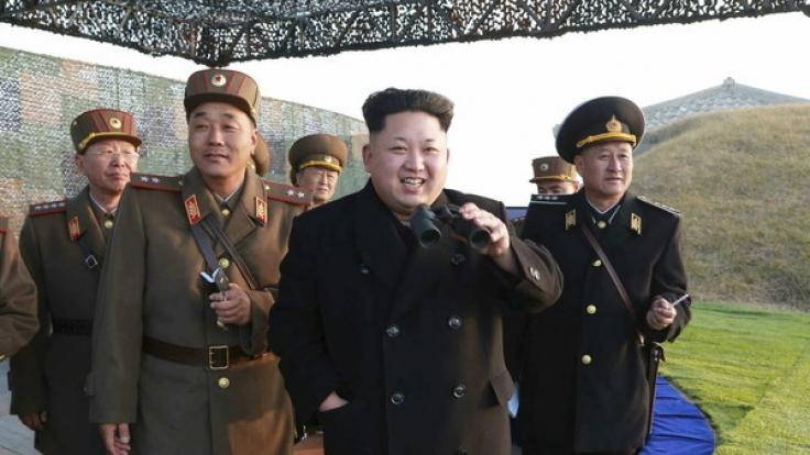 Der Schlagabtausch zwischen Nordkorea und den USA nimmt kein Ende. (Foto)