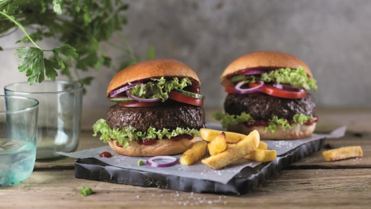 Beyond Meat Burger Aktion bei Lidl, Netto Marken-Discount und Edeka.