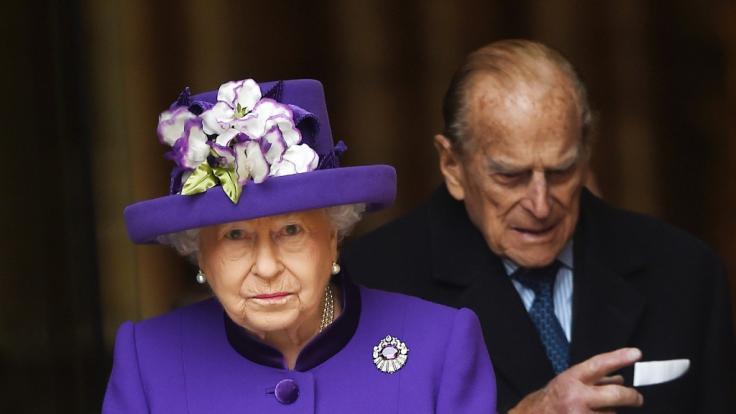 Queen Elizabeth II. und ihr Mann Prinz Philip werden in den nächsten Tagen nach Balmoral reisen. (Foto)