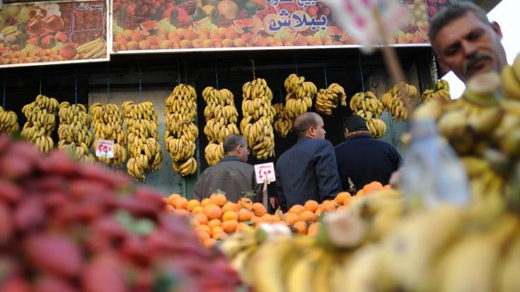 Gefahr durch E.coli-Bakterien: Urlauber in Ägypten sollten nur frisches Obst essen, wenn sie es vorher selbst geschält haben. (Foto)
