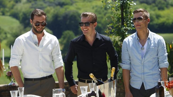 Peter, Paul und Marcel (v.l.n.r.) - Werden sie sich bei Cath the Millionaire verlieben?