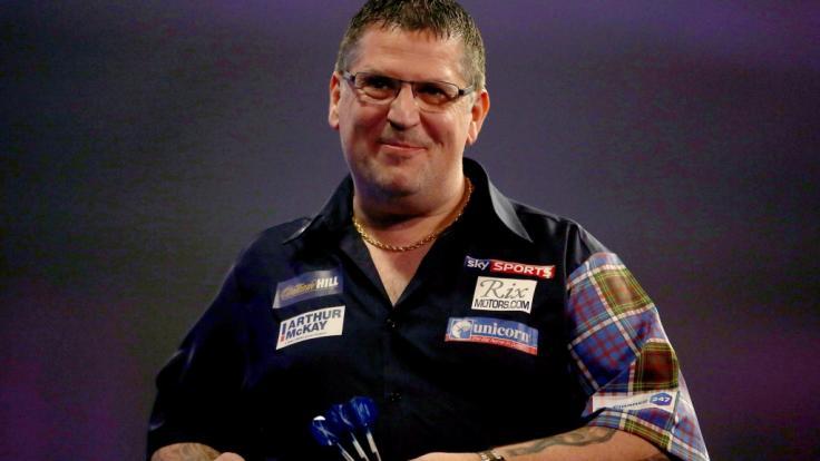 Der Schotte Gary Anderson gehört als Darts-Profi mit dem Spitznamen