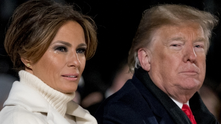 Über die Ehe von Melania und Donald Trump wird heftig spekuliert. (Foto)