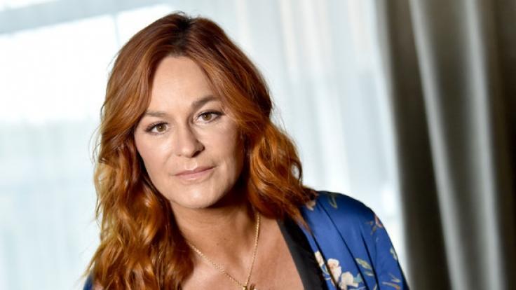 Andrea Berg weinte im Interview bittere Tränen.
