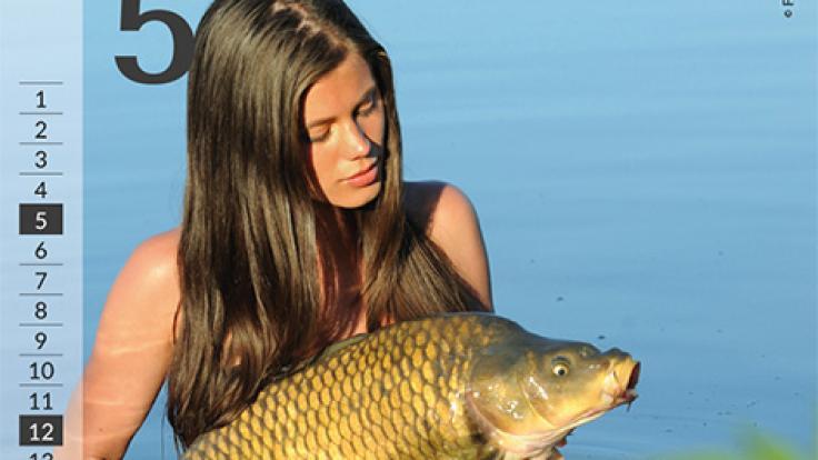 Nicht nur Angler dürften Gefallen an den sexy Damen finden.