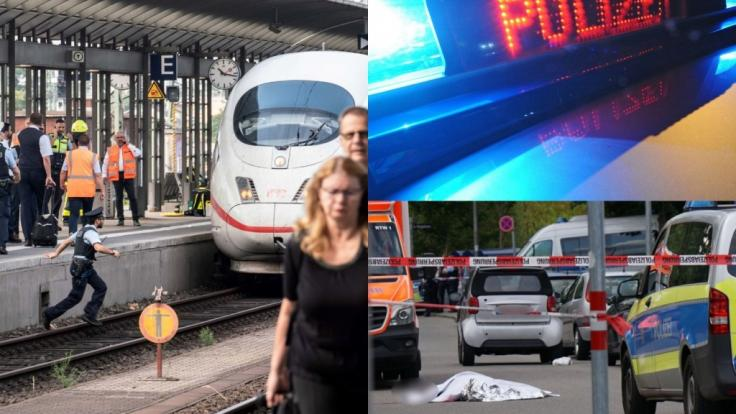 Nicht nur die tödliche Gleis-Attacke auf einen Achtjährigen am Frankfurter Hauptbahnhof, auf der brutale Schwert-Mord in Stuttgart-Fasanenhof schockierte in dieser Woche die Welt. (Foto)