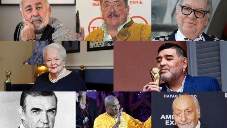 Zahlreiche Promis sind im Jahr 2020 gestorben und haben ihre Fans trauernd zurückgelassen. (Foto)