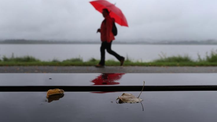 Zum Start in den Monat September steht Deutschland Schmuddelwetter mit Regen und Gewitter bevor. (Foto)
