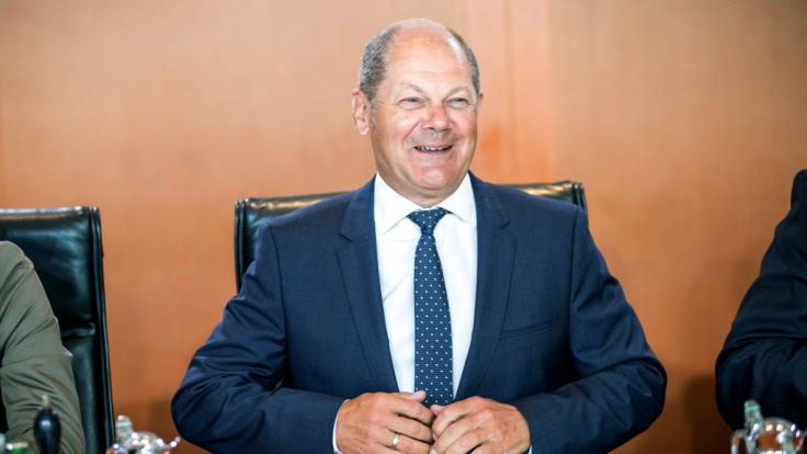 Olaf Scholz wurde als Kanzlerkandidat nominiert. (Foto)