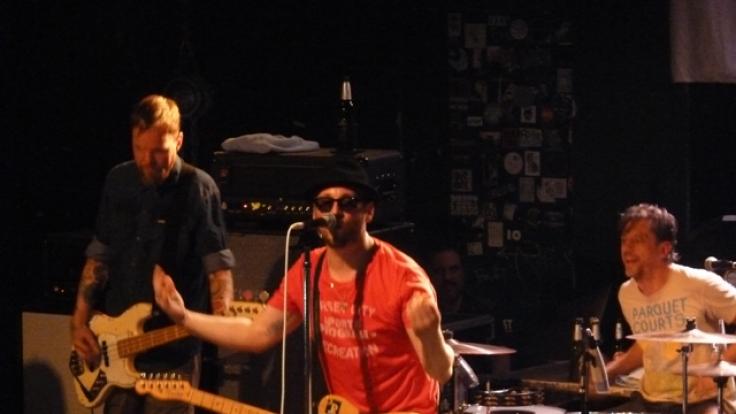 Beatsteaks live im Conne Island in Leipzig