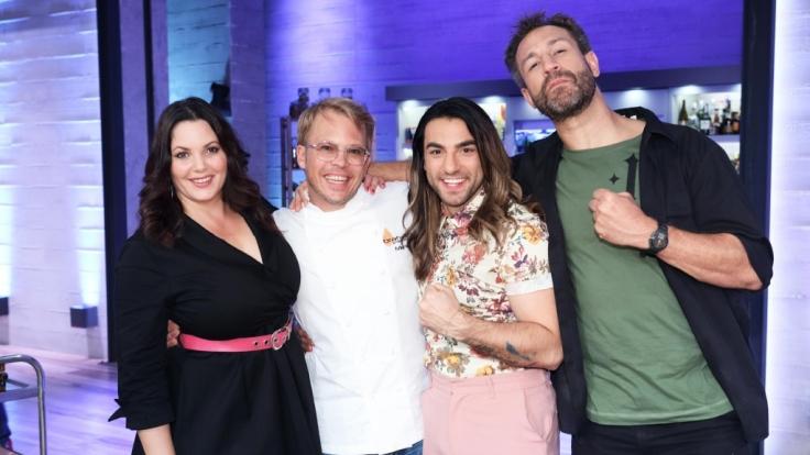 V.l.: Paula Lambert, Mario Kotaska, Cale Kalay, Jared Hasselhoff. (Foto)
