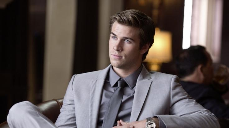Liam Hemsworth, «Thor»s kleiner Bruder, findet sich in «Paranoia» inmitten einer intriganten Fehde zwischen zwei Mobilfunkmagnaten wieder. (Foto)