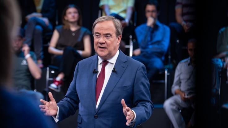 Armin Laschet blamiert sich im ZDF. (Foto)
