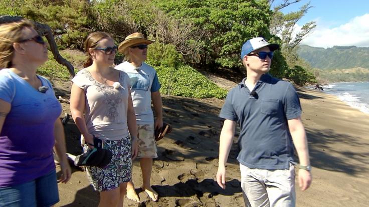 Familie Reimann ist im Hochzeitsfieber! Konny und Manu haben Töchterchen Janina und ihren Zukünftigen Coleman zu Besuch im hawaiianischen Zuhause Konny Island III. (Foto)