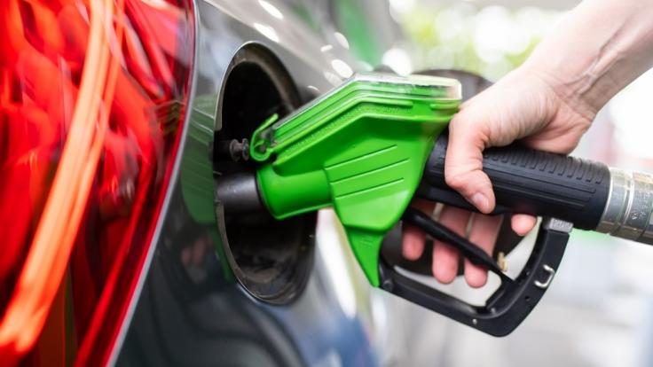 Die Benzinpreise sind im April gestiegen.
