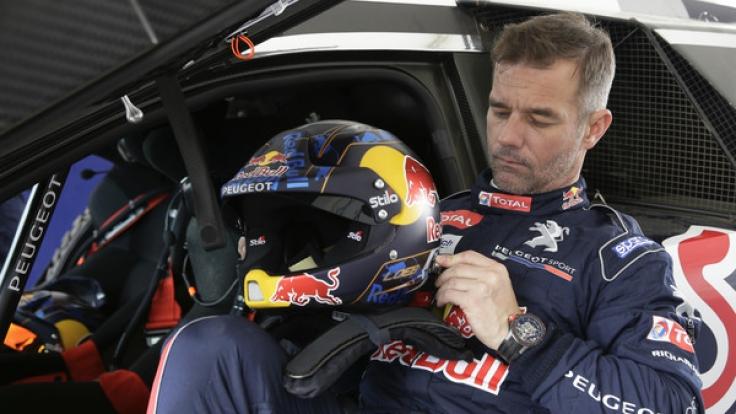 Sebastien Loeb will bei seiner letzten Rallye-Dakar-Teilnahme den Sieg holen. (Foto)