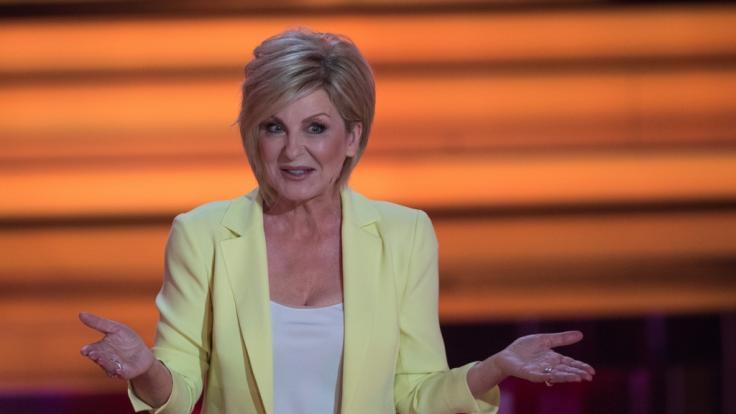 Carmen Nebel nimmt das Ende ihrer Show gelassen.