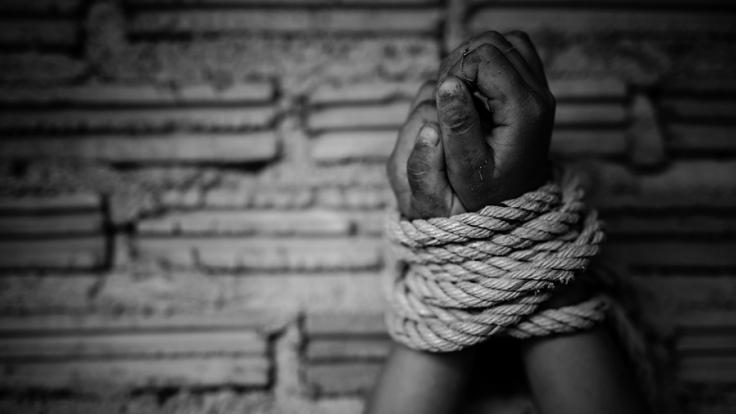In einem Weinberg wurde ein gefesseltes Mädchen gefunden (Symbolbild).