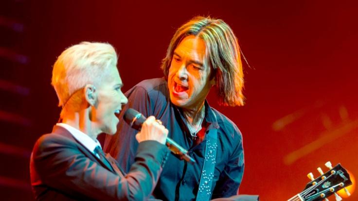 Marie Fredriksson und Per Gessle alias Roxette müssen ihre Sommertour 2016 canceln. (Foto)