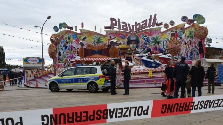 Eine Frau starb auf dem Potsdamer Oktoberfest.