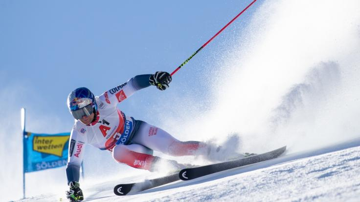 Der Ski-alpin-Weltcup 2020/21 der Herren macht am 06. und 07. März 2021 Station inKvitfjell (Norwegen). (Foto)