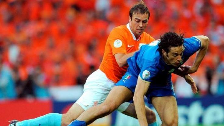 Das letzte Mal trafen Italien und die Niederlande 2008 aufeinander. Damals entschieden die Niederlande das Spiel mit 3:0 für sich. (Foto)