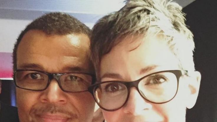 Cheryl Shepard mit ihrem Mann Nikolaus Okonkwo. (Foto)