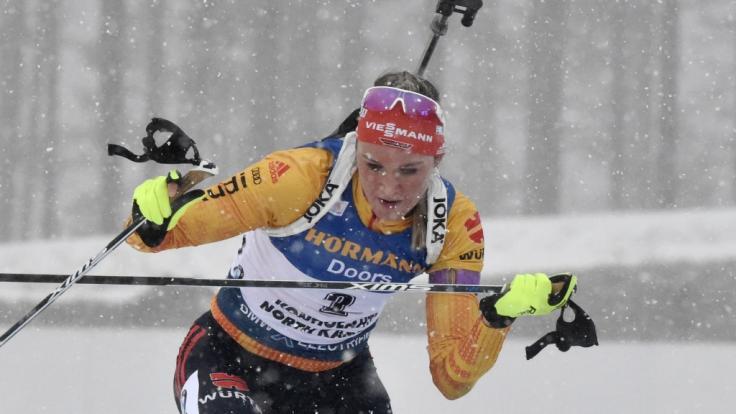 Biathlon Heute Damen