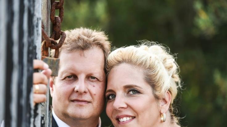 Jens und Daniela Büchner gaben sich Anfang Juni das Jawort. (Foto)