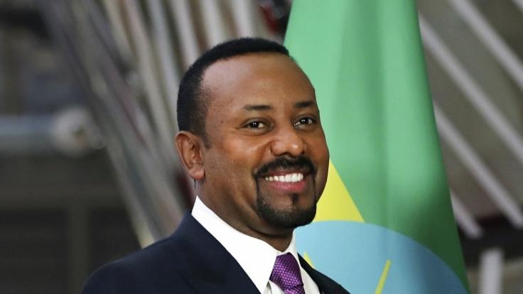 Der äthiopische Ministerpräsident Abiy Ahmed wird mit dem Friedensnobelpreis 2019 ausgezeichnet.