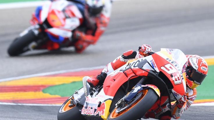 Beim Großen Preis von Aragonien 2021 qualmen in der MotoGP, in Moto2 und Moto3 wieder die Reifen. (Foto)