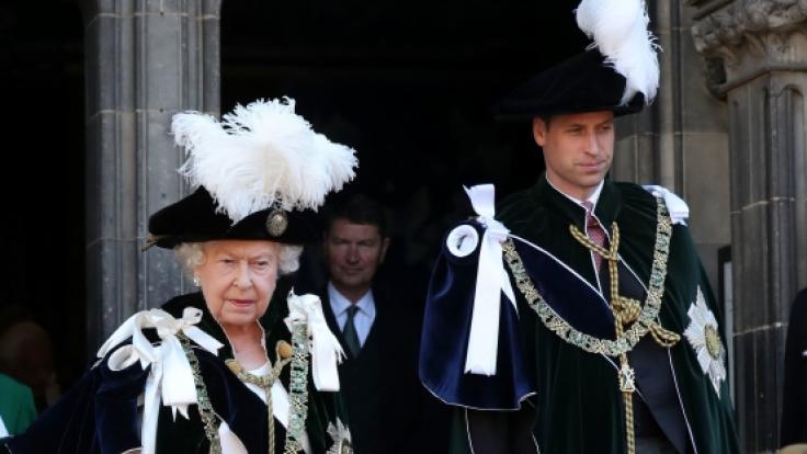 Queen Elizabeth macht sich Sorgen um Prinz William.