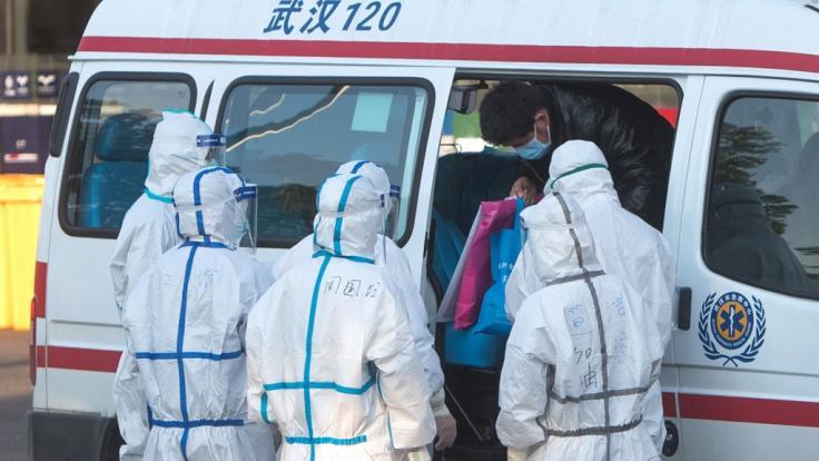Die Zahl der Todesopfer durch die neuartige LungenkrankheitCovid-19 in China ist erneut stark angestiegen (Foto)