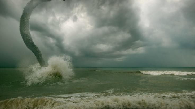 Unwetter wüten aktuell über den Balearen. (Foto)