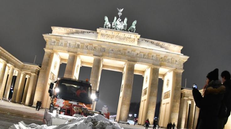 Der Winter 2017 hat Deutschland weiter fest im Griff. (Foto)