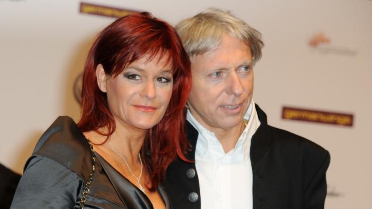 Seit neun Jahren verheiratet: Andrea Berg und Ehemann Ulrich Ferber. (Foto)