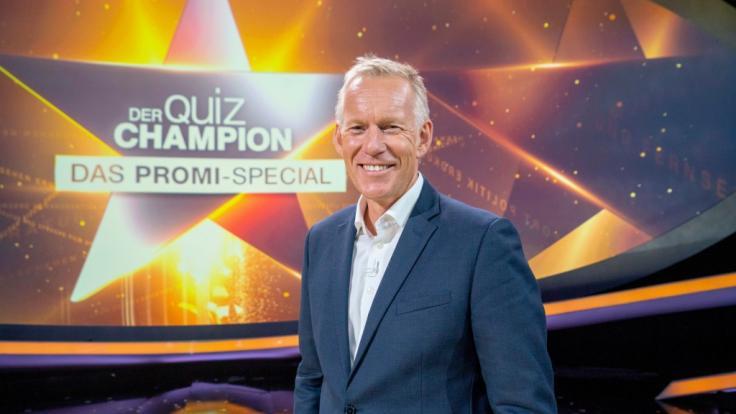 """Johannes B. Kerner bittet zu einer neuen Ausgabe von """"Der Quiz-Champion"""" - diesmal mit einem Promi-Special. (Foto)"""