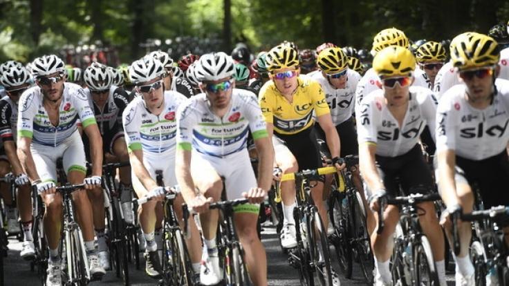 Die Tour de France läuft seit 1. Juli 2017.