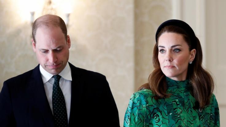 Prinz William und Herzogin Kate ziehen nach Anmer Hall.