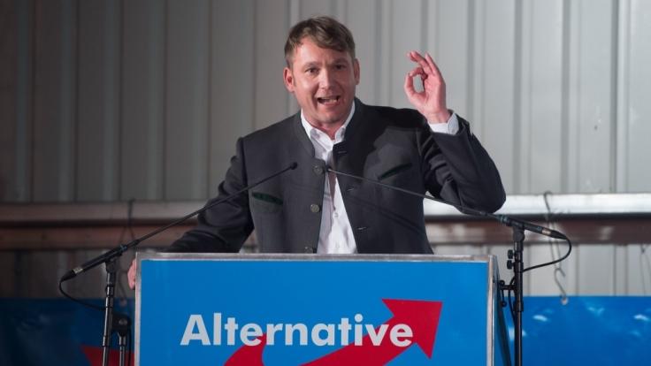 AfD-Politiker André Poggenburg drohen rechtliche Konsequenzen. (Foto)