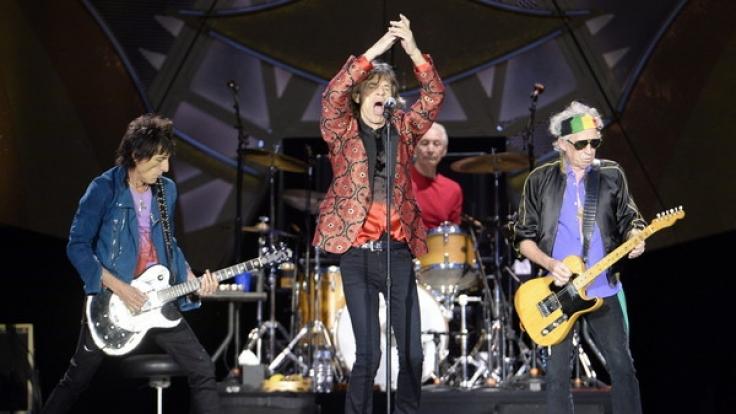 """""""The Rolling Stones"""" bei einem Konzert in Wien am 16. Juni 2014. Die """"Stones"""" starten im Herbst ihre Europatour in Hamburg. (Foto)"""