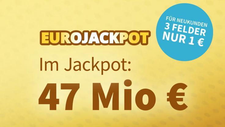 Am Freitag liegen 47 Millionen Euro im Jackpot. (Foto)