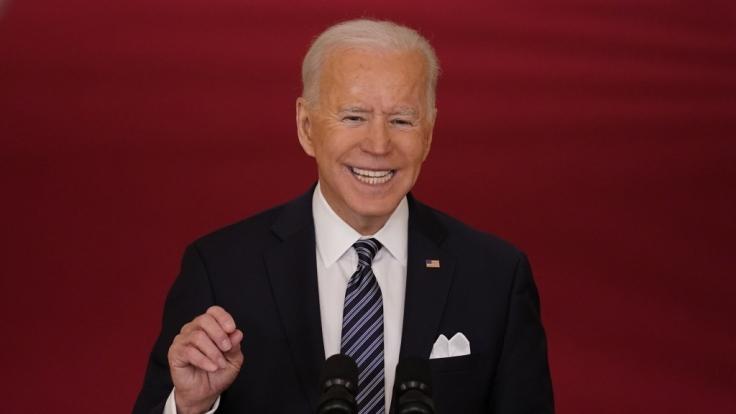 Joe Biden hat seine geliebten Hunde wieder. (Foto)