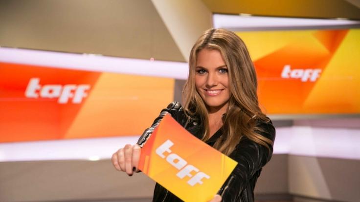 """Viviane Geppert ist als """"taff""""-Moderatorin erfolgreich. (Foto)"""