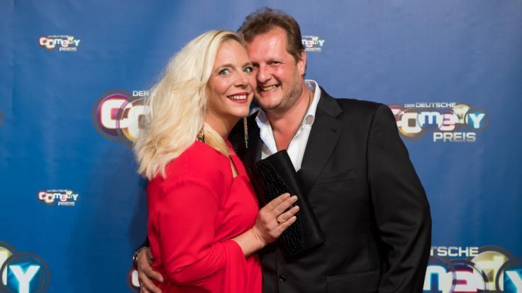 Daniela Büchner und ihr Mann Jens Büchner: Der 49-Jährige starb im November 2018 überraschend an Krebs. (Foto)