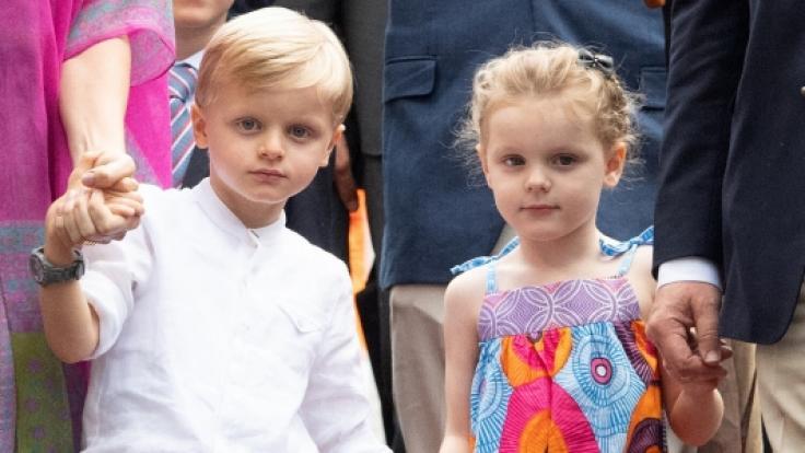 Prinz Jacques und Prinzessin Gabriella sind der Stolz Monacos.