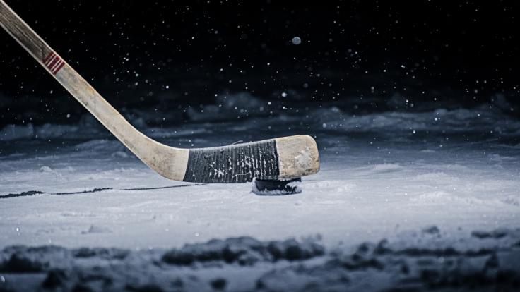 Eishockey-SpielerTimur Faizutdinov starb durch einen Puck. (Foto)